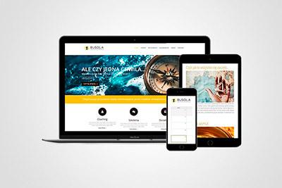 Akademia Busola - projekt strony www