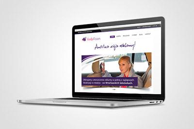 Ambivision - projekt strony internetowej