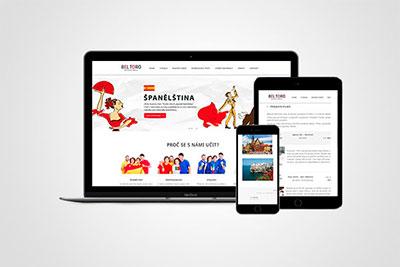 Bel Toro - strona internetowa