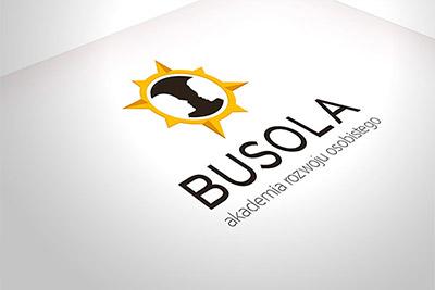Akademia Busola - projekt logo i wizytówki