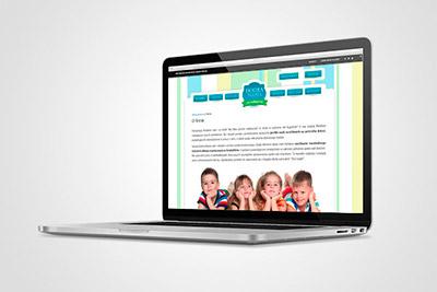 Dobra Niania - projekt portalu internetowego