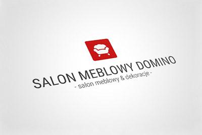 Salom Meblowy Domino - projekt logo