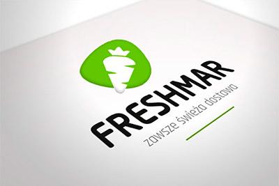 Freshmar - projekt logo i wizytówki
