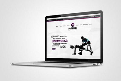 Habaj - studio treningów - strona www