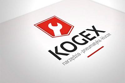 Kogex - projekt logo i wizytówki