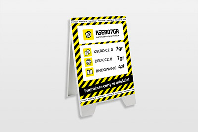 Ksero 7gr - materiały reklamowe