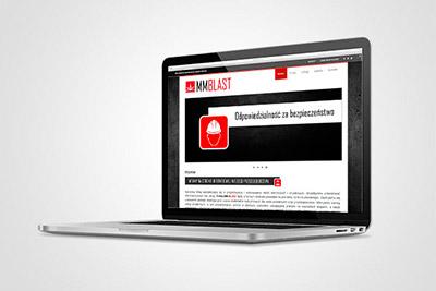 MMblast - witryna internetowa