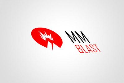MMblast - projekt identyfikacji wizualnej