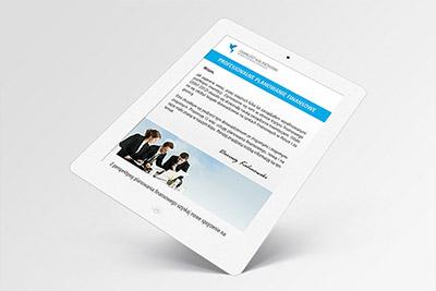 Doradca Finansowy - projekt mailingu