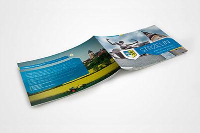 Gmina Strzelin - projekt broszury
