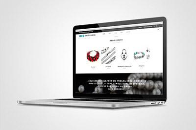 Świat Broszek - projekt sklepu internetowego
