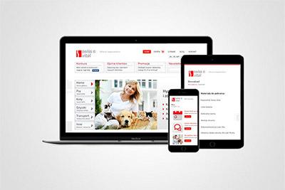 Swiss Vital - strona internetowa