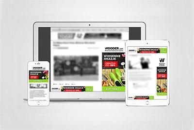 Wooder - reklama google AdSense