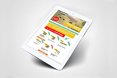 Wooder - internetowe materiały reklamowe