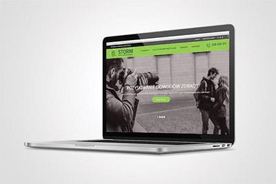 Detektyw STORM - strona www
