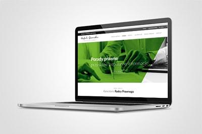 Kancelaria radcy prawnego - strona www