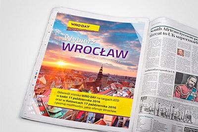 Gazeta Wyborcza - projekt reklamy
