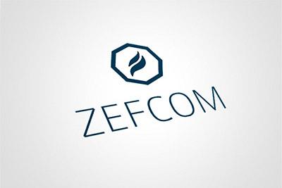 Zefcom - projekt logo i papeterii
